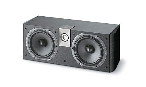 Focal Chorus CC600 2-Way Bass Reflex Center Channel Speaker (Black)