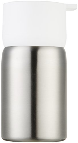 AmazonBasics Stainless Steel Soap Pump - White by AmazonBasics