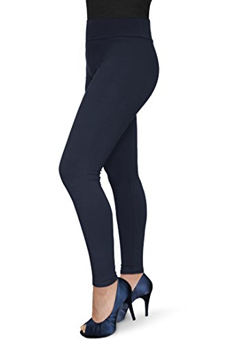 - 31wCZtONg6L - Women's Solid Ultra Soft and Stretchy Full Length Leggings Pants