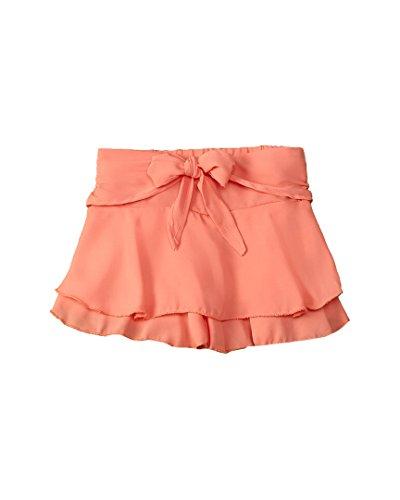 - Flapdoodles Girls Ruffle Skort, 3T, Orange