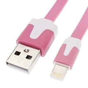 Conseguir Cable de extensión de datos USB para Iphone5 Itouch5 Ipadmini 4G Flat Tipo Pink (3M)