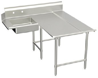 Elkay SSP LLC SLDDTLE-96-R Spec-Line Series L-Shaped Soiled Dishtable