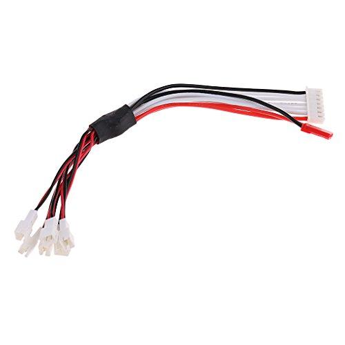 Baoblaze 6イン1 JST-PH 2.0  コネクターケーブル ワイヤー ハーネス RC Lipoバッテリーチャージャー用