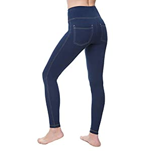 High Waist  Jean  Jeggings for Women with Pockets