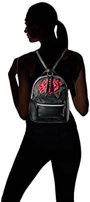 T-Shirt & Jeans Back Pack with Rose Patch