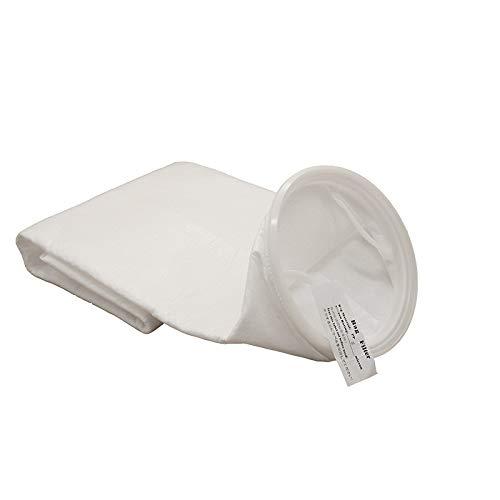 Bags Filter Liquid (Membrane Solutions Filter Socks, 5 Micron Filter Bag 7 Inch Ring Polypropylene Filter Bag, 2-Pack)
