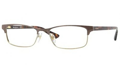 Vogue VO3862 Eyeglasses-848 Brown/Pale Gold-54mm