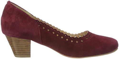 Women's Hirschkogel 3003413 Bordo Toe Closed 024 Red Heels agdngrWO