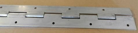 (2) Heavy Duty Aluminum Door Piano Hinge by Vintage Technologies