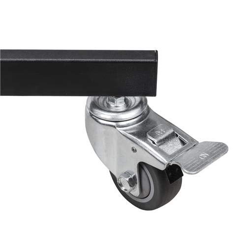 Flashpoint Folding Wheeled Base Stand (Black/Chrome-Plated, 9') by Flashpoint (Image #2)