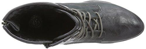 Mustang Stiefelette - botas de material sintético mujer gris - Grau (900 anthrazit)