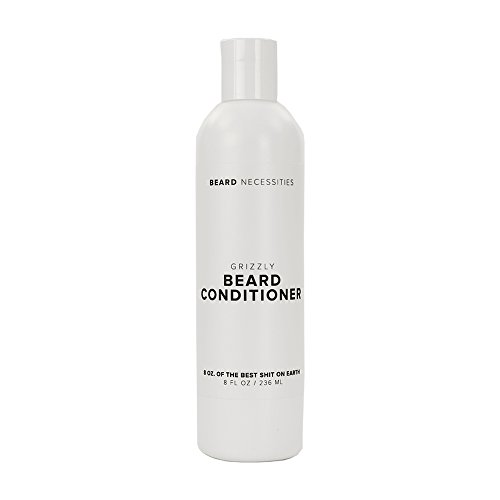 Beard Necessities Conditioner & Softener for All Facial Hair - Enriched with Aloe Vera & Argan Oil to Help Soften & Moisturize. Best Product for Mens Grooming Kit. Soften Your Beard Today!