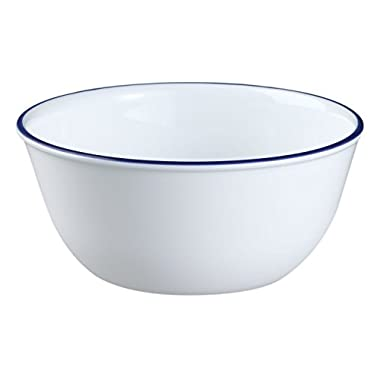 Corelle Livingware 28-Ounce Super Soup/Cereal Bowl, Navy Blue (3 Bowls)