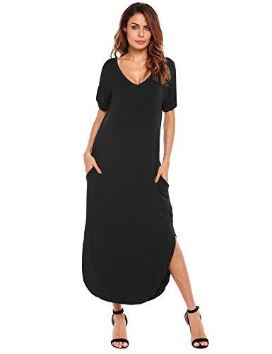 Jersey Double V-Neck Dress - 7
