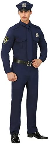 Mens Police Costume Cop Adults product image