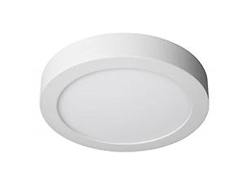 Plafoniera Luce Calda : Downlight superficie piatto led w luce bianca calda plafoniera