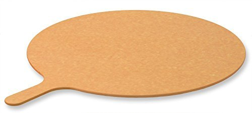 LloydPans SB-20 Round Pizza Serving/Cutting Board, Natural, 20''