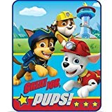 - Paw Patrol Throw Blanket Style, Red & Blue