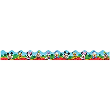 Eureka Mickey Mouse Clubhouse, Characters Deco Trim (845140)