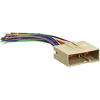 scosche fd23b 2003 up select ford harness rh amazon com Scosche Wiring Harness Diagrams GM Wiring Harness