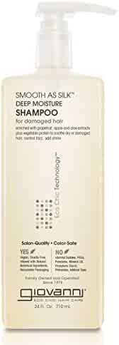 Giovanni Smooth as Silk Shampoo - Deep Moisturizing and Frizz Calming Formula 24 Fl Oz (Pack of 1)