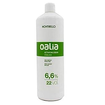 Montibel-Lo Mont Oalia Act Cream, Tinte Crema Activadora 22 Vol 6.6%, 1000 ml