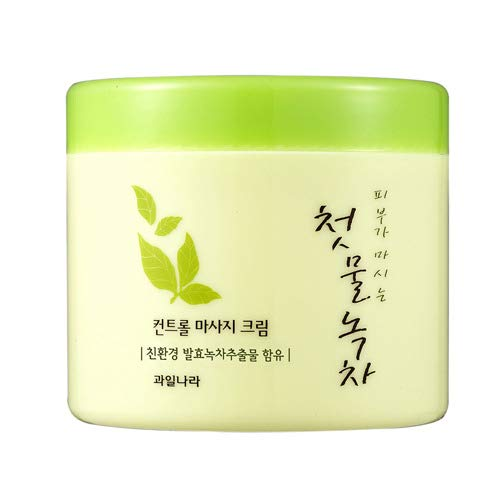 녹차 마사지 크림 Green Tea Massage Cream