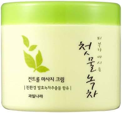 [Kwailnara] The First Green Tea Control Massage Cream (Fermented Green Tea)