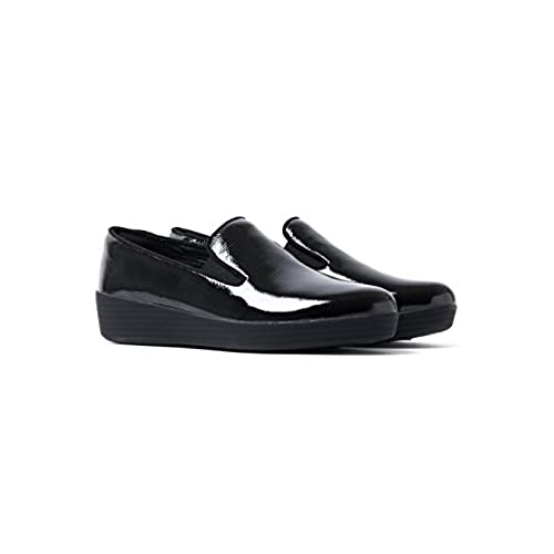 a4176edfa6b3 FitFlop™ Superskate™ Crinkle-Patent Loafers hot sale - appleshack.com.au