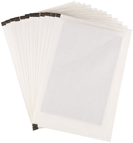 AmazonBasics Shredder Sharpening & Lubricant Sheets – Pack of 12