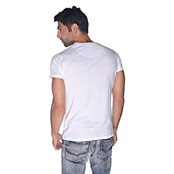 Creo Bikers Born To Ride T-Shirt For Men - S, White
