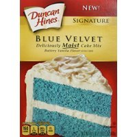 Duncan Hines, Signature, Blue Velvet Buttery Vanilla Flavor Cake Mix, 16.5oz Box (Pack of 3) Thank you all with me to entrust to Starworld market stewardship. Best Regard