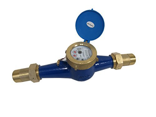 - PRM 2 Inch NPT Multi Jet Water Meter, Brass Body - Not for Potable Water
