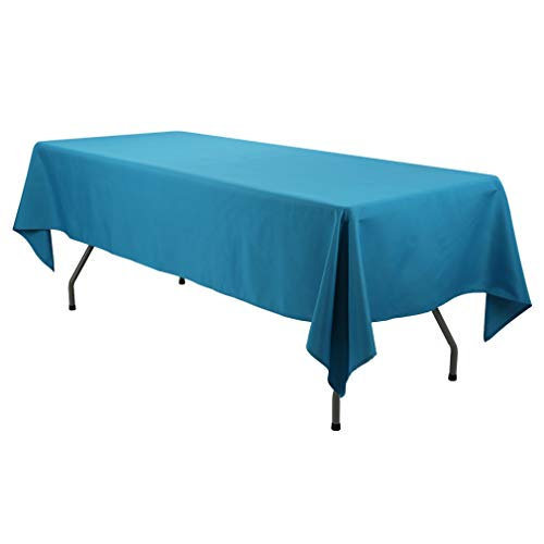 Waysle 60x84-Inch Rectangular Tablecloth for 5 Foot Table Caribbean - Great for Buffet Table, Parties, Holiday Dinner, Wedding & More -