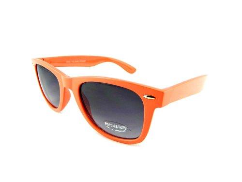 New Promotional Budget Wayfarer Retro Sunglasses - Neon with Grey Lens - Business Risky Sunglasses Cruise Tom
