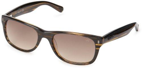 Kenneth Cole New York KC7123W5362F Wayfarer Sunglasses,Brown Horn,53 mm by Kenneth Cole New York