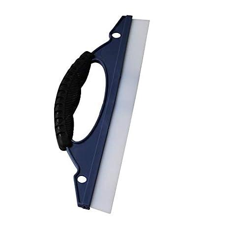 Kurphy Silicona Suave Limpiador para Lavar Cristales de automóviles Limpiador para limpiaparabrisas Escobilla de Secado Kit de Ducha Cuidado para el ...