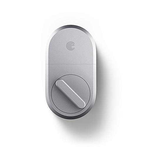 August Smart Lock, 3rd Gen technology - Silver, Compatible with Alexa (Renewed) by August (Image #5)