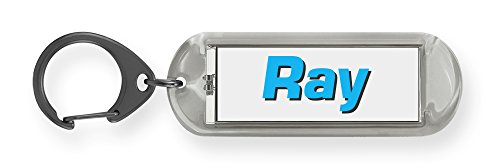 Dimension 9 Flash 'n' Flip Solar Powered Personalized Name Keychain - Ray - Ray Name A