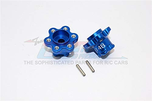 Part & Accessories Axial Racing Yeti AX90026 Aluminium Steering Assembly - 6pcs set - GPM YT014B - (Color: Blue) - Gpm Steering Assembly