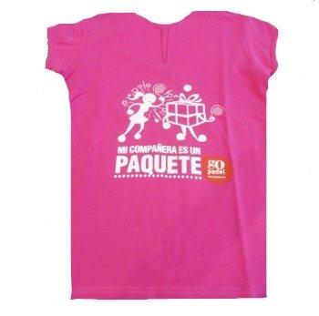 Gopadel - Camiseta pádel mi compañera es un paquete, talla xxl ...
