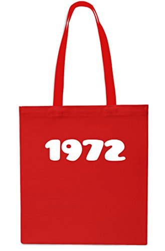 Gym x38cm Anniversary RED 10 42cm Tote Year SAPPHIRE litres Beach Bag 1972 Shopping Birthday cRXFcga