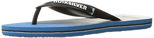 Quiksilver Mens Molokai Division Walking Shoe Black/Blue/Grey