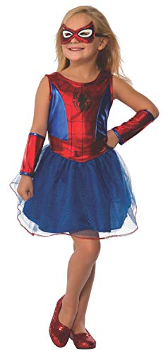 Rubie's Marvel Classic Child's Spider-Girl Costume, Toddler -