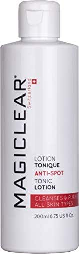Luxury Face Toner Whitening Anti-Spots Lotion - Melasma and Dark Spot Remover for Face Whitening Tonic - Premium Swiss Brand Magiclear 200 ml