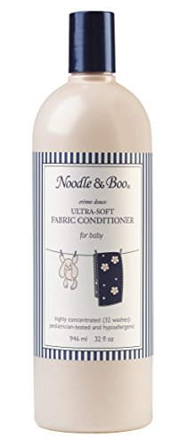 Noodle & Boo Baby Laundry Essentials Ultra-Soft Fabric Conditioner (Best Baby Detergent And Fabric Softener)