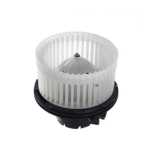 Heater Blower Motor w/Fan Cage Blower Motor Resistor fit for 2002-2006 Cadillac Escalade; 2002 Cadillac Escalade EXT;2002 Chevrolet Avalanche(Replaces # 700089 52400424 2400424 615-00579) G042B
