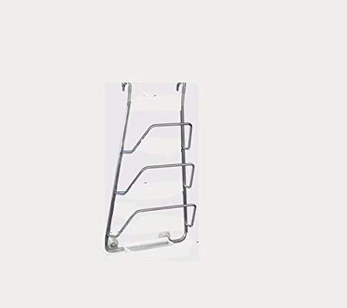 Estante de cocina de Pared, sin Perforaciones, Almacenamiento de ...
