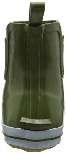 Goma SHARONLO y Mujer Goma Botas caño Kamik de olive de Forradas Verde bajo Oli de qdCvX