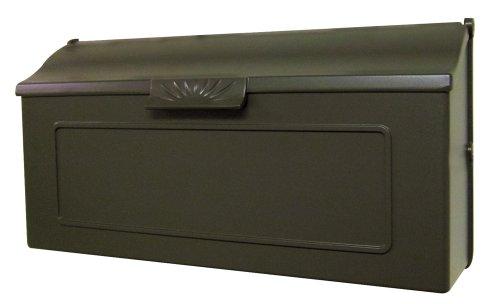 Special Lite Products SHH-1006-MOC Horizon Horizontal Mailbox, Mocha